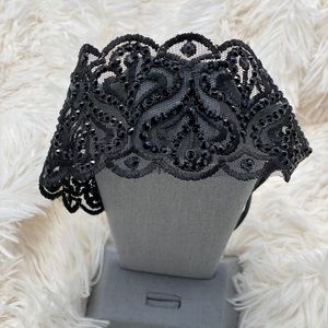 Brand new lace headband with tags